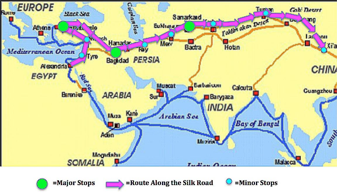 """a comparison of the eastern market and the silk road This network of countries, stretching from the black sea and eastern  the silk  roads once dominated global trade and cultural exchange  are evidence of  the booming markets and wealth in the muslim world in the early  despite """" differences in race, belief and cultural background"""" for 2,000 years."""