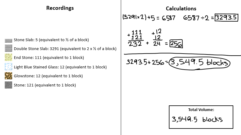 Minecraft_Volume_Calculations